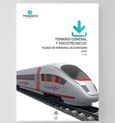 Temario General y Psicotécnicos - Plazas Convenio ADIF - Temarios PDF