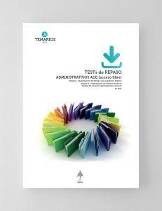 Test de Repaso - Administrativos AGE Acceso Libre Bloque 1, 2 y 3