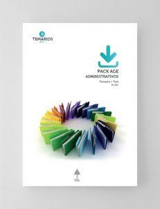 Pack AGE Administrativos Temario y Test - 2021