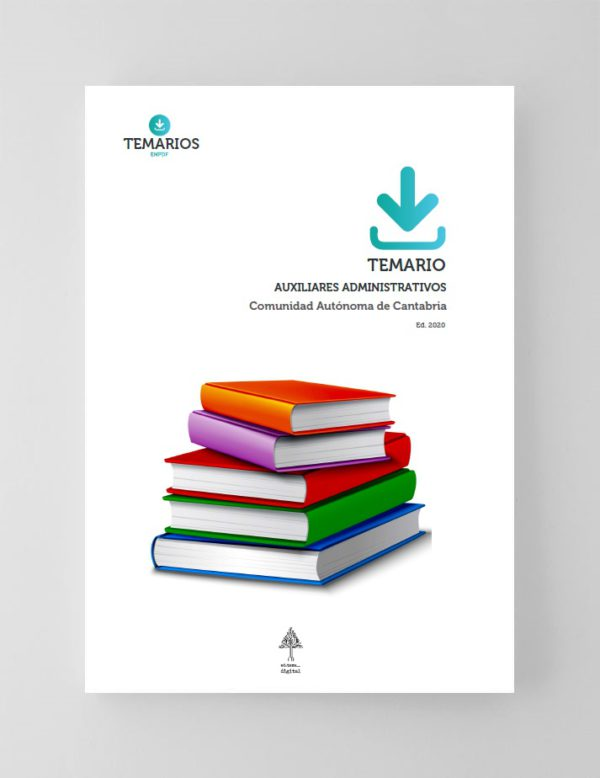 Temario Auxiliares Administrativos Comunidad Autónoma Cantabria 2020