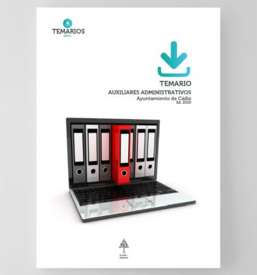 Temario Auxiliares Administrativos Ayuntamiento de Cadiz 2020