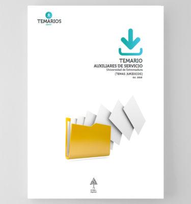 Temario Auxiliares Servicio - Extremadura - Temarios PDF