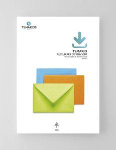 Temario Auxiliares Servicio - Universidad Extremadura - Temarios PDF