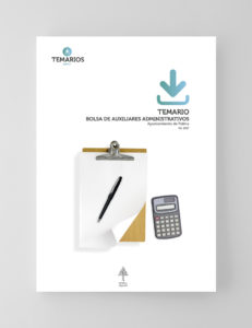 Temario - Bolsa Auxiliares Administrativos - Ayuntamiento Palma - Temarios PDF