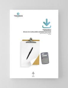 Temario Bolsa Auxiliares Administrativo Ayuntamiento Palma - Temarios PDF