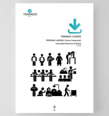 Temario Común Personal Laboral Universidad Politécnica Madrid 2020