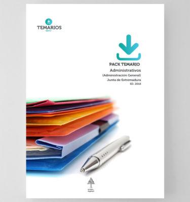 Pack Temario Administrativos Junta Extremadura - Temarios PDF