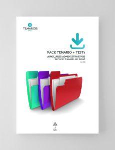 Pack Temario y Test Auxiliares Administrativos Servicio Canario de Salud 2021