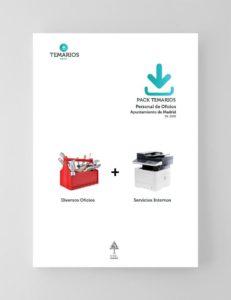 Pack Temarios Personal Oficios Ayuntamiento Madrid 2020
