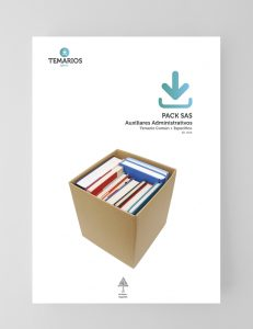 PACK SAS Auxiliares Administrativos - Temario Común Específico - Temarios PDF