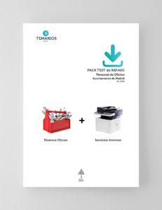 Pack Test de Repaso Personal de Oficios Ayuntamiento de Madrid 2020