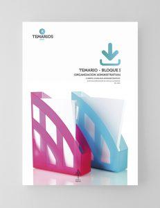 Temario - Organización Administrativa Bloque 1 - Temarios PDF
