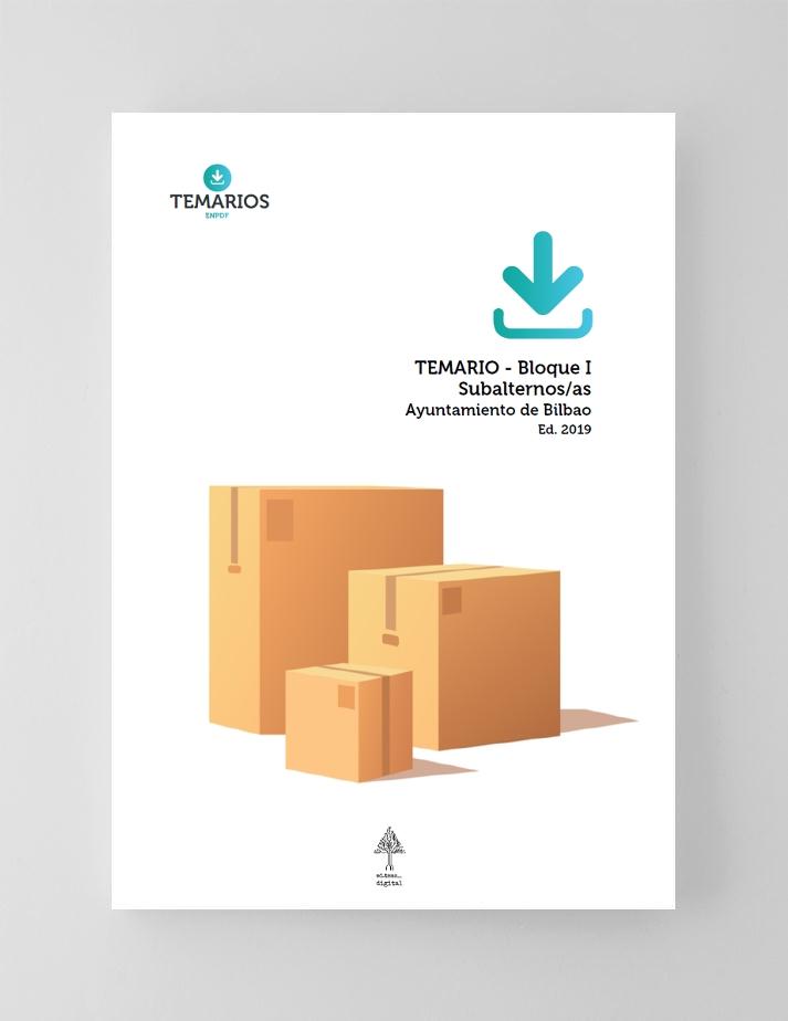 Temario en pdf Subalterno Bilbao