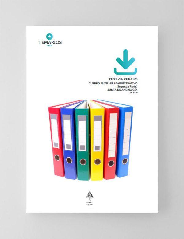 Test Repaso Auxiliar Administrativo Junta de Andalucía 2020