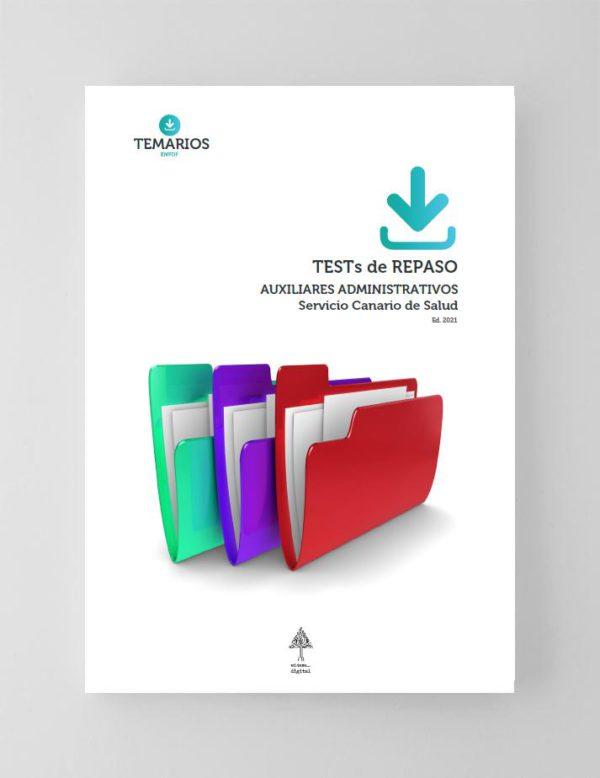 Test de Repaso Auxiliares Administrativos Servicio Canario de Salud 2021