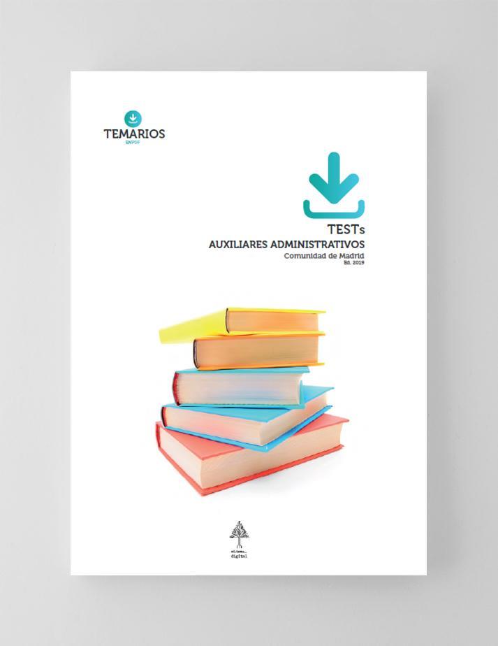 Test Auxiliares Administrativos Comunidad De Madrid 2019