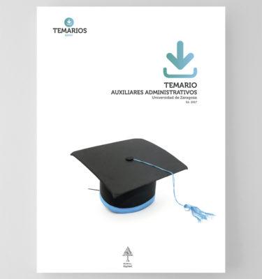 Temario - Auxiliares Administrativos - Universidad Zaragoza - Temarios PDF
