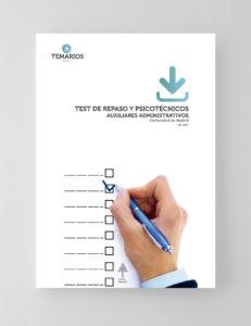 Test Repaso y Psicotécnico Auxiliares Administrativo - Comunidad Madrid - Temarios PDF