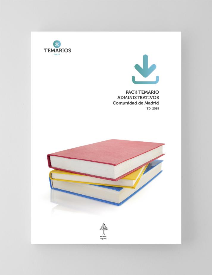 Pack Temario Auxiliares Administrativos Comunidad Madrid