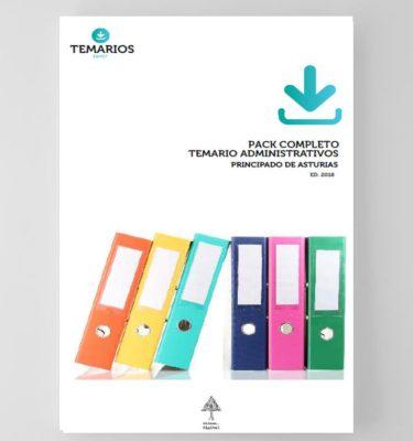 Pack Completo - Temario Administrativos - Principado Asturias - Temarios PDF