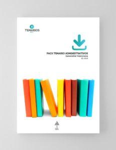Pack Temario Administrativos - Generalitat Valenciana - Temarios PDF