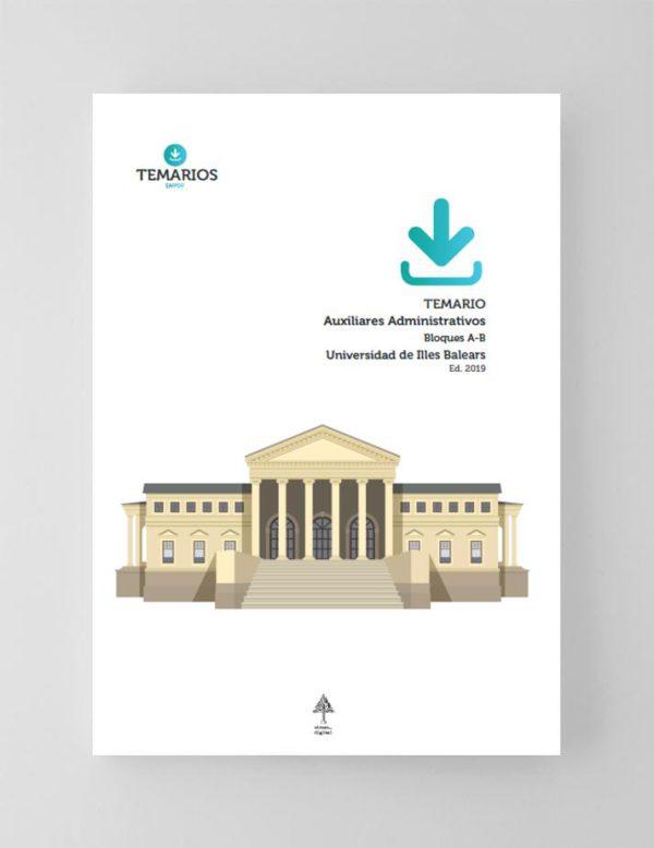 Temario Auxiliares Administrativos Universidad Islas Baleares 2019