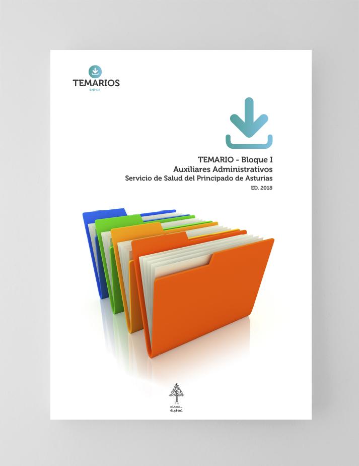 Temario Auxiliares Administrativos - Bloque 1 - Servicio Salud Principado Asturias - Temarios PDF