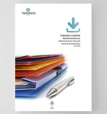 Temario Común Administrativos - Junta de Extremadura - Temarios PDF
