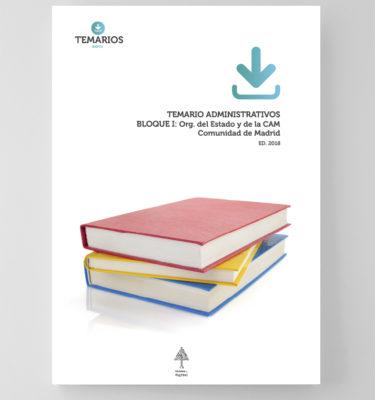 Temario Administrativos Bloque 1 - Comunidad Madrid - Temarios PDF