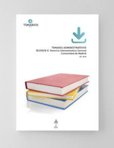 Temario Administrativos Bloque 2 - Comunidad Madrid - Temarios PDF
