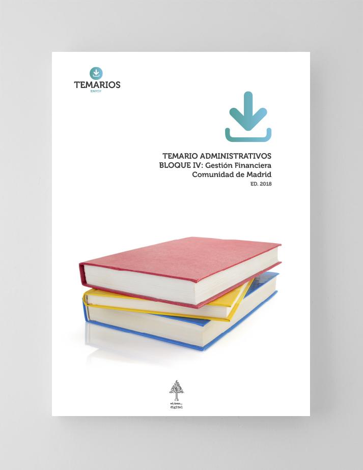 Temario Administrativos - Bloque 4 - Comunidad Madrid - Temarios PDF