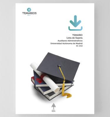 Temario - Lista de Espera - Auxiliares Administrativo - Autónoma Madrid - Temarios PDF