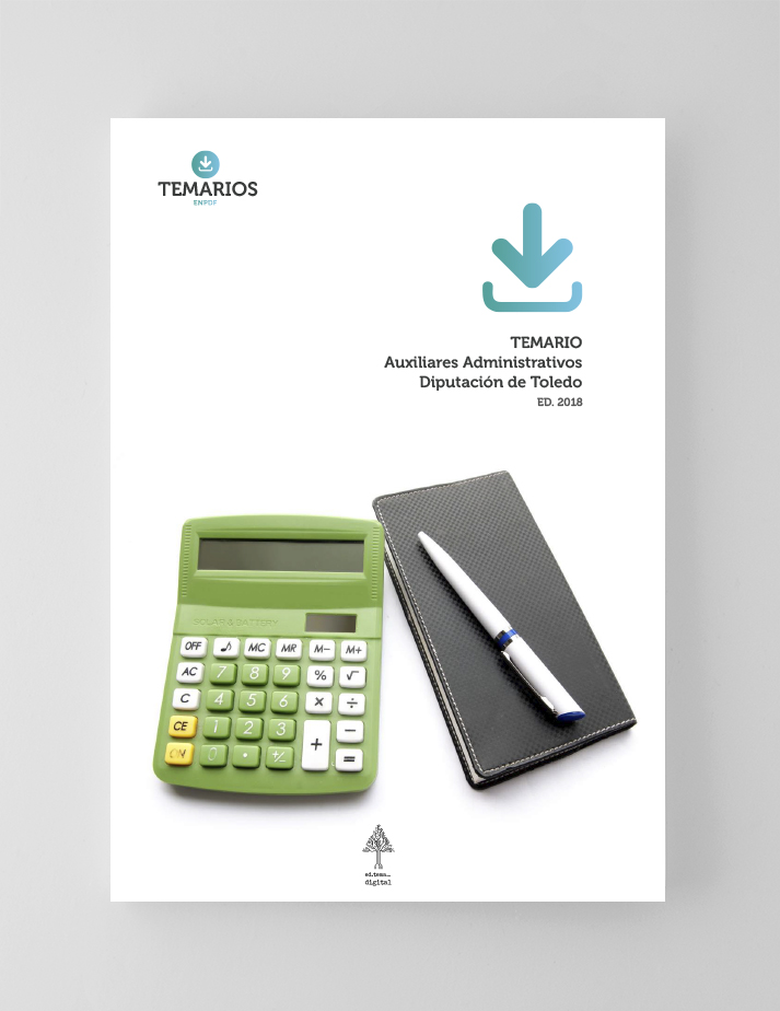 Temario - Auxiliares Administrativos - Diputación Toledo - Temarios PDF