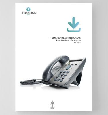 Temario Ordenanzas Ayuntamiento de Murcia - Temarios PDF