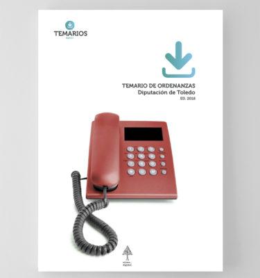 Temario Ordenanzas Diputación Toledo - Temarios PDF