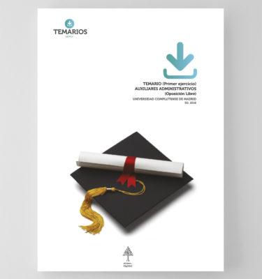 Temario Auxiliares Administrativos Oposición Libre - Complutense Madrid - Temarios PDF