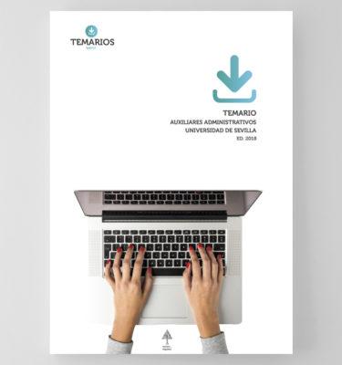 Temario Auxiliares Administrativos Universidad Sevilla - Temarios PDF