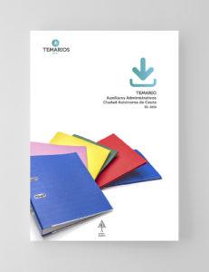Temario Auxiliares Administrativos Ciudad Autónoma Ceuta - Temarios PDF