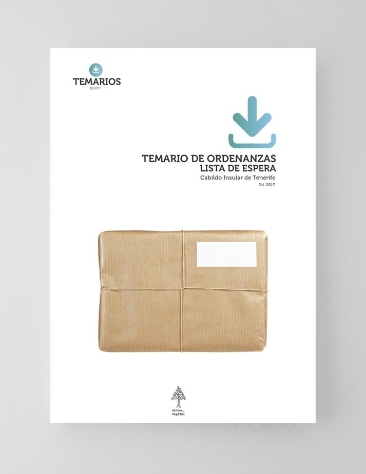 Temario Ordenanzas Lista Espera Cabildo Tenerife - Temarios PDF