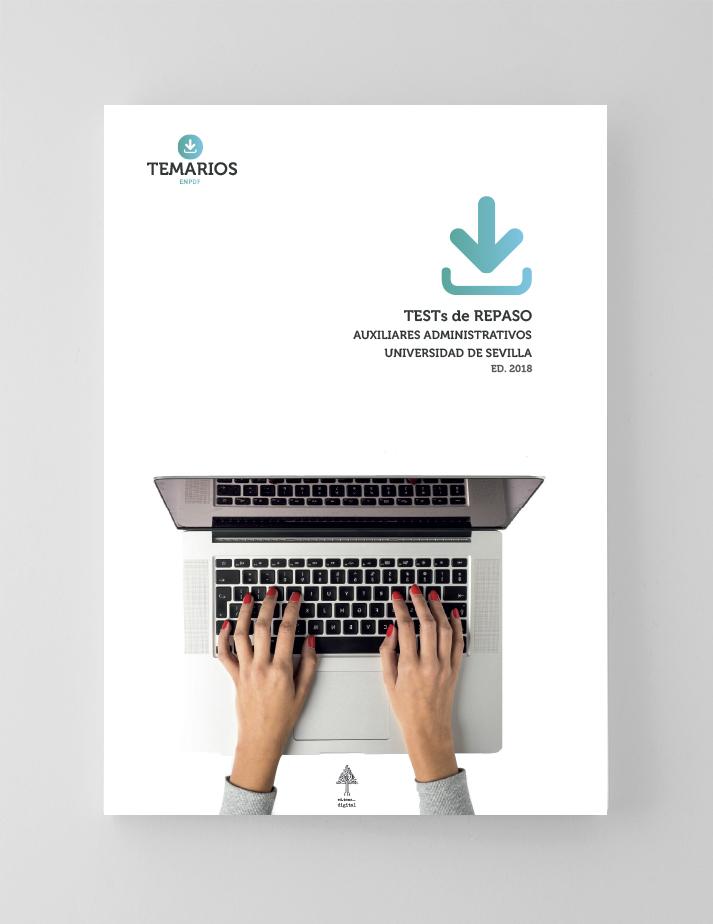 Test Repaso Auxiliares Administrativos Universidad Sevilla - Temarios PDF