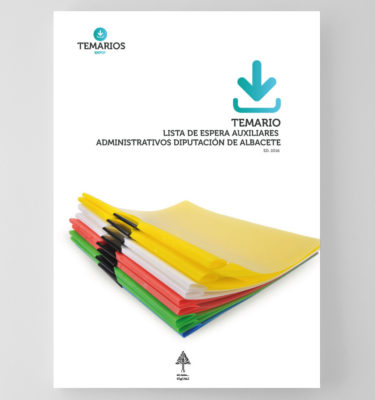 Temario Lista de Espera Auxiliares Administrativos Albacete