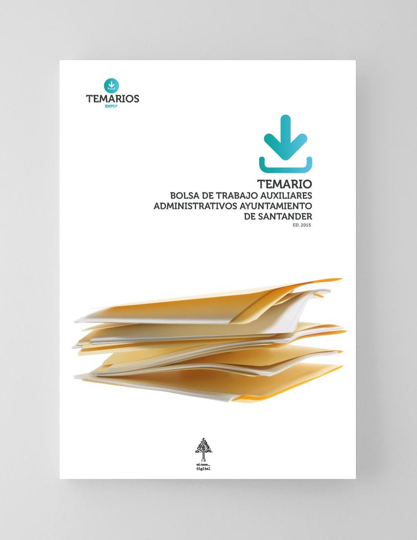 Temario Bolsa de Trabajo Auxiliares Administrativos Ayuntamiento Santander - Temarios PDF