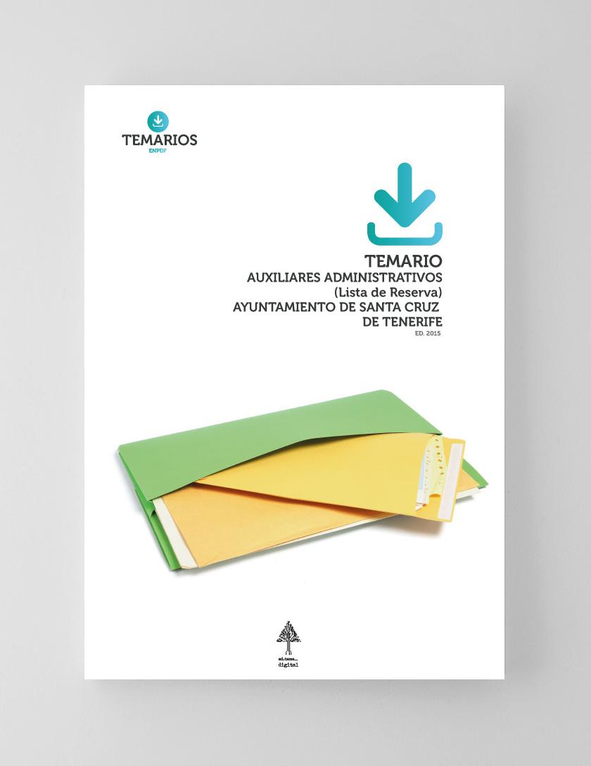 Temario Auxiliares Administrativos Ayuntamiento Santa Cruz Tenerife - Temarios PDF