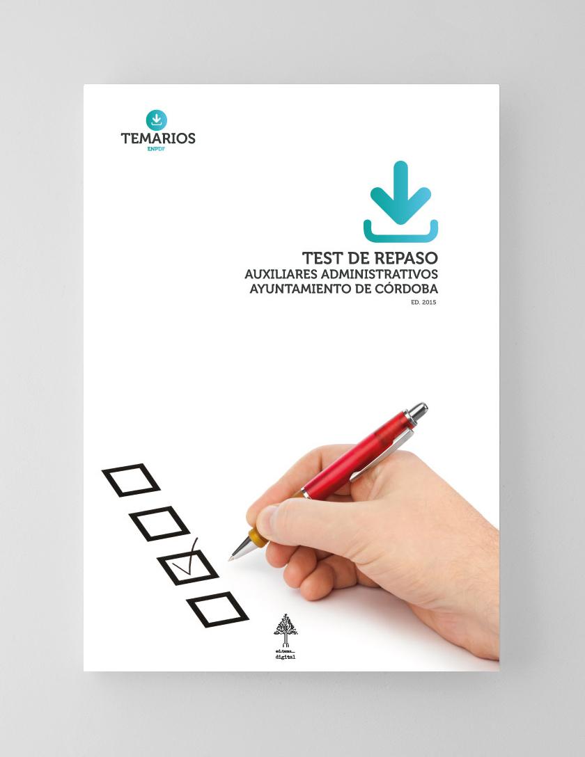 Test Auxiliares Administrativos Ayuntamiento Córdoba - Temarios PDF