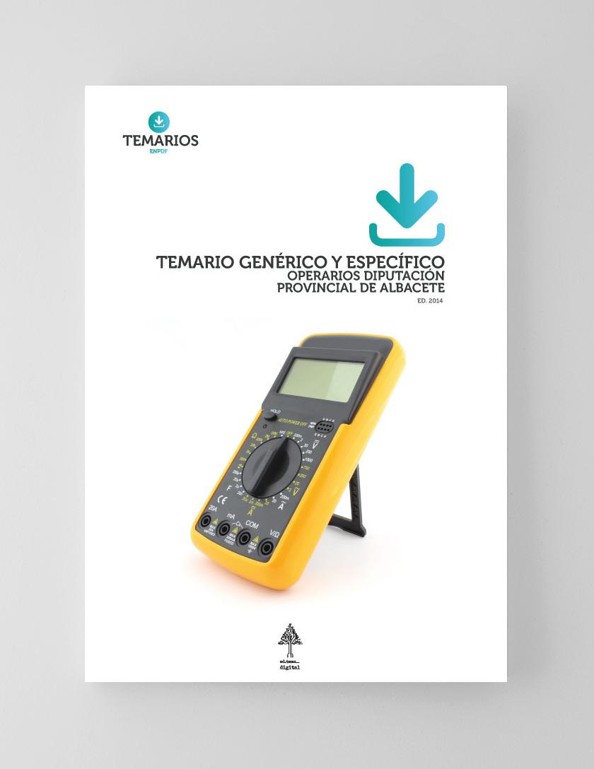 Temario Específico Operarios Diputación Provincial Albacete - Temarios PDF