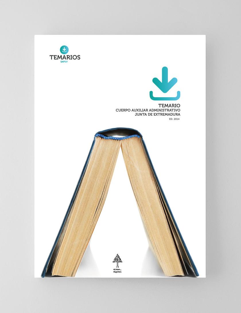 Temario PDF Cuerpo Auxiliar Administrativo Junta de Extremadura
