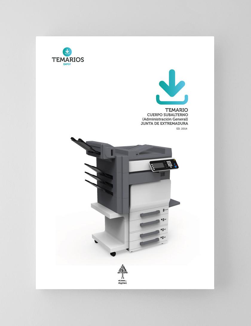 Temario Cuerpo Subalterno Administración General - Junta Extremadura - Temarios PDF