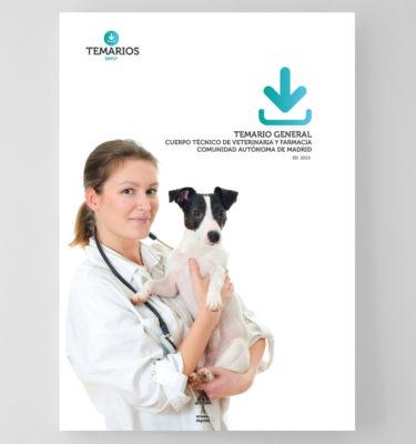 Temario General Cuerpo Técnico Veterinaria Farmacia - Comunidad Madrid - Temarios PDF