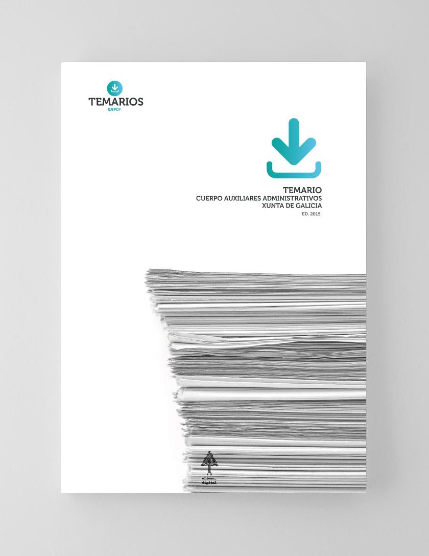 Temario PDF Auxiliares Administrativo Xunta de Galicia
