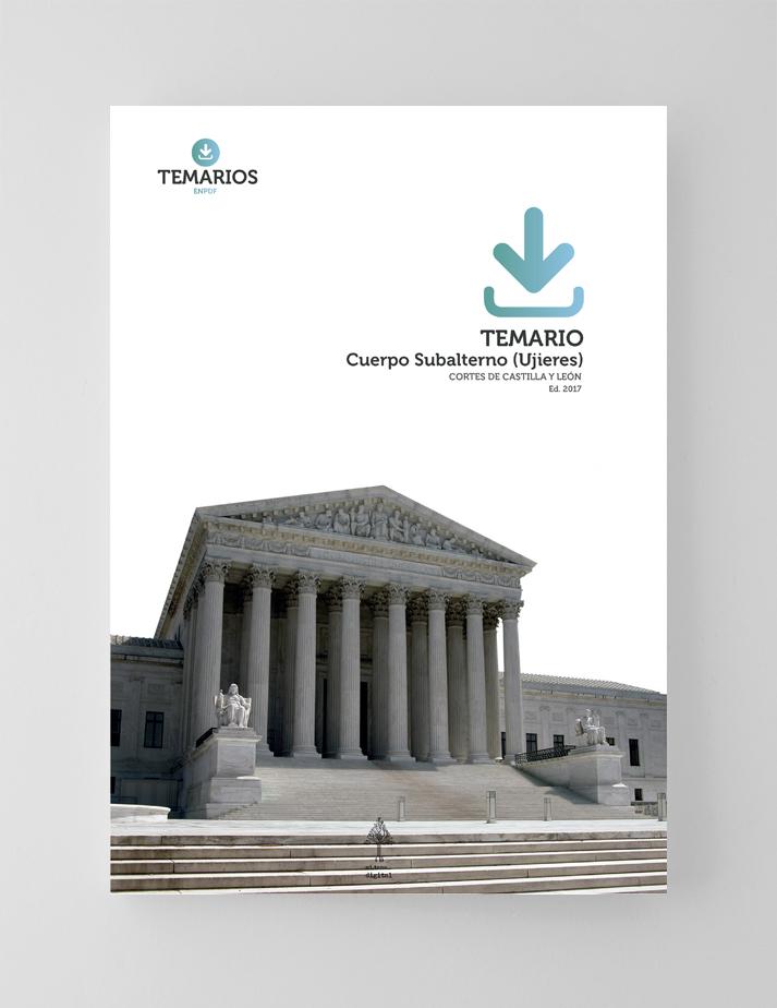 Temario - Ujieres Corte Castilla y León - Temarios PDF